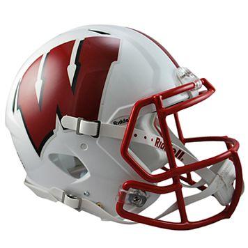 Riddell NCAA Wisconsin Badgers Speed Authentic Replica Helmet