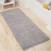 Portsmouth Home Memory Foam Long Shag Bath Mat