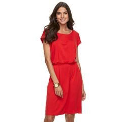 Women's Apt. 9® Cinched T-Shirt Dress