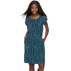 Women's Apt. 9® Cinched T-Shirt Dress