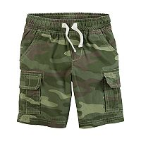 Boys 4-8 Carter's Camouflaged Cargo Shorts
