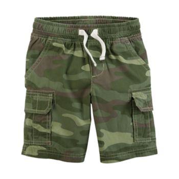 Boys 4-8 Carter's Camouflaged Cargo Shorts