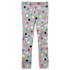 Baby Girl Carter's Polka-Dot Leggings