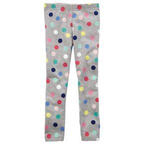 Baby Girl Carter's Polka-Dot Leggings