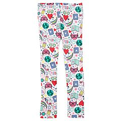 Baby Girl Carter's 'Reading' Print Leggings