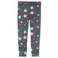 Baby Girl Carter's Outer Space Solar System Leggings