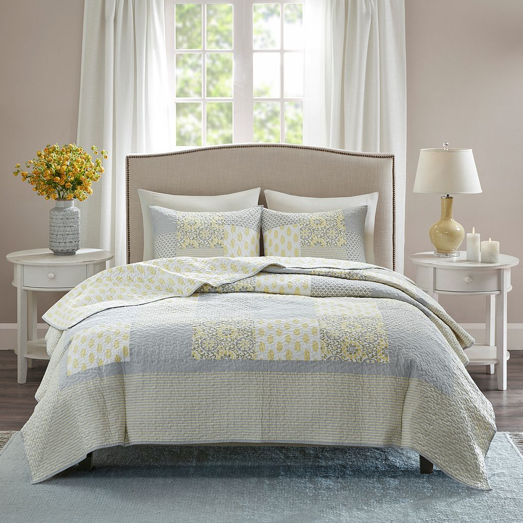 Madison Park Cosette Cotton Coverlet Set