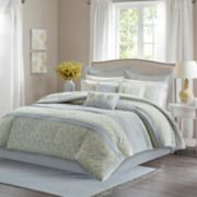 Madison Park Cosette Percale 9-piece Comforter Set