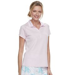 Women's Pebble Beach Collared Short Sleeve Polo