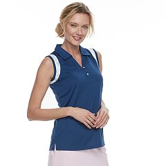 Women's Pebble Beach Collared Sleeveless Polo