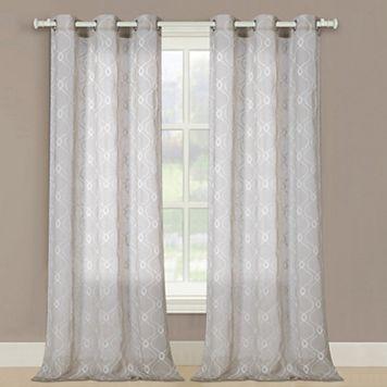 United Curtain Co. Maya Window Curtain Set