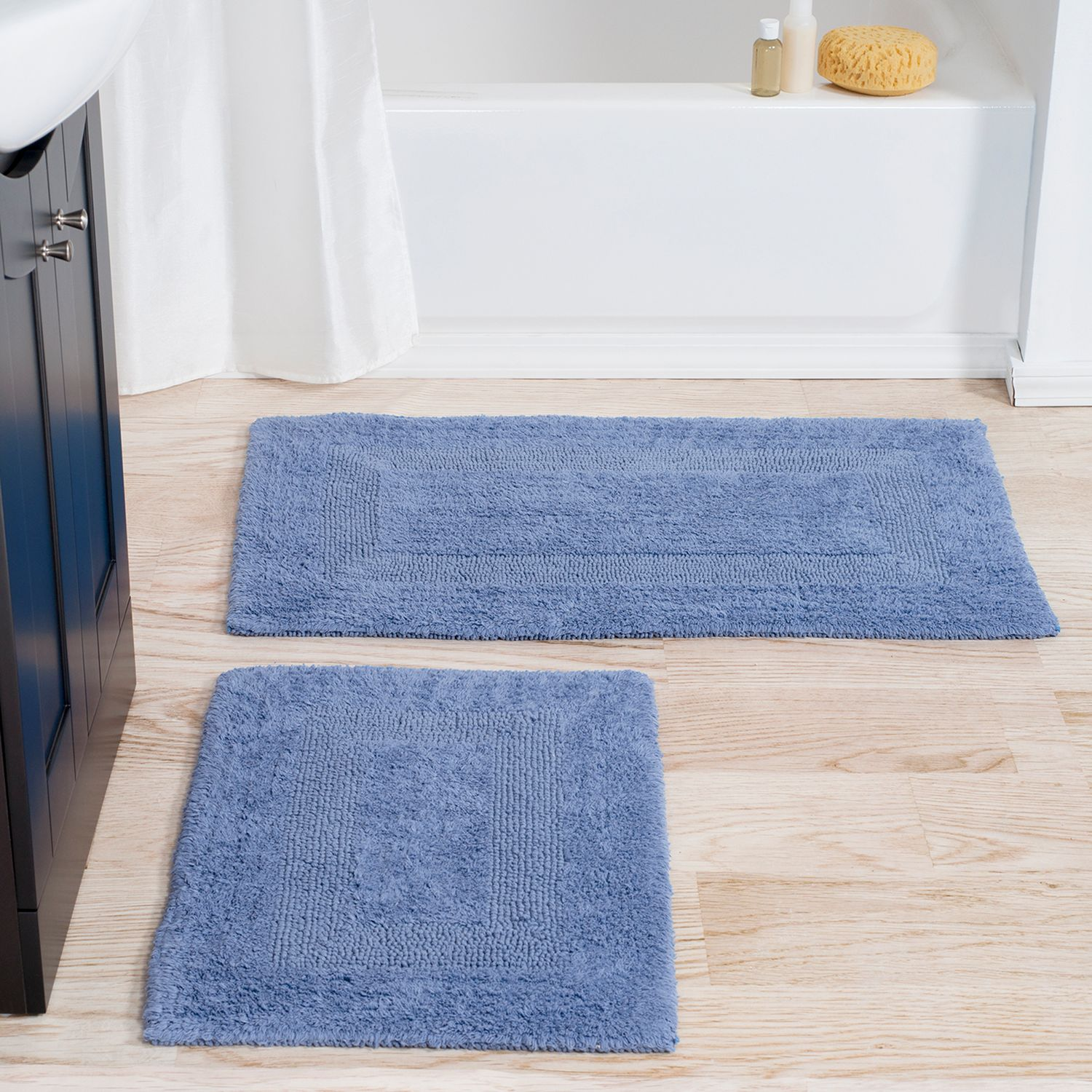 portsmouth home 2piece reversible bath rug set