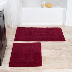 Portsmouth Home 2 pc Reversible Bath Rug Set