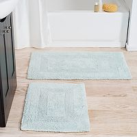 Portsmouth Home 2-piece Reversible Bath Rug Set