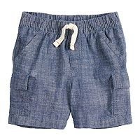 Baby Boy Jumping Beans® Chambray Cargo Shorts