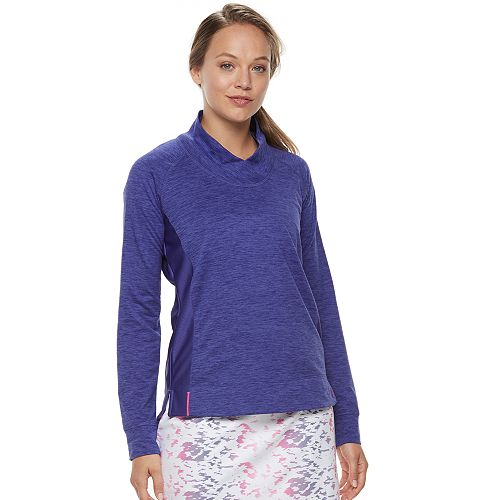 Women's Pebble Beach Long Sleeve Pullover Golf Top