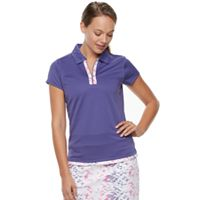 Women's Pebble Beach Collared Short Sleeve Golf Polo
