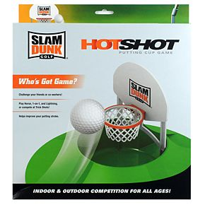 Slam Dunk Golf HotShot Putting Cup Game
