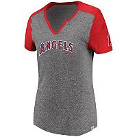 Women's Majestic Los Angeles Angels of Anaheim Invulnerable Tee