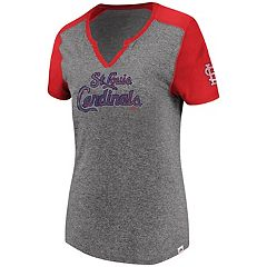 Women's Majestic St. Louis Cardinals Invulnerable Tee