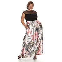 Plus Size Chaya Floral Maxi Dress