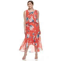 Plus Size Chaya High-Low Maxi Dress