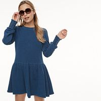 k/lab French Terry Skater Dress