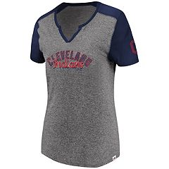 Women's Majestic Cleveland Indians Invulnerable Tee