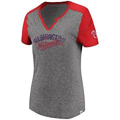 Women's Majestic Washington Nationals Invulnerable Tee