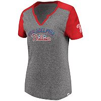 Women's Majestic Philadelphia Phillies Invulnerable Tee