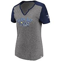 Women's Majestic Tampa Bay Rays Invulnerable Tee