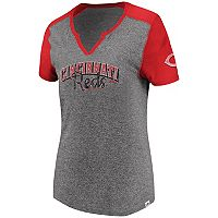 Women's Majestic Cincinnati Reds Invulnerable Tee