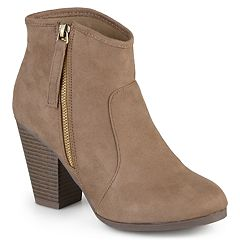 4fa550724e2 Journee Collection Link Women s Ankle Boots. Charcoal Black Taupe