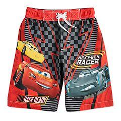 Disney / Pixar Cars 3 Boys 4-7 Swim Trunks