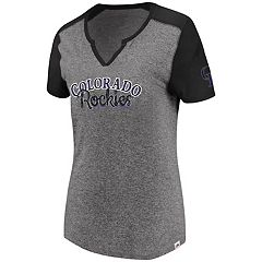 Women's Majestic Colorado Rockies Invulnerable Tee
