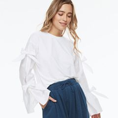 k/lab Ribbon Accent Top