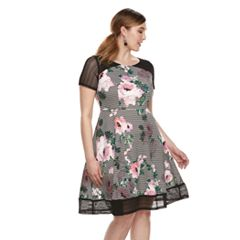 Plus Size Chaya Floral Lace Dress