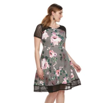 Plus Size Chaya Floral Lace Dress