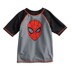 Boys 4-7 Marvel Spider-Man Rash Guard Top