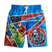 Boys 4-7 Marvel Avengers Swim Trunks