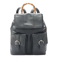 Dana Buchman Faux Bamboo Handle Backpack