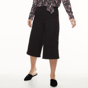 k/lab Side-Button Denim Culottes