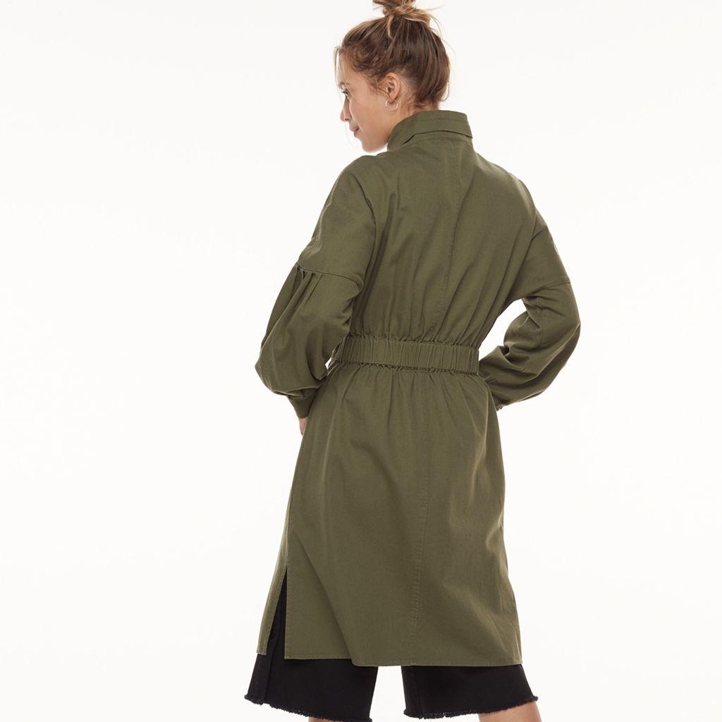 k/lab Twill Duster Jacket