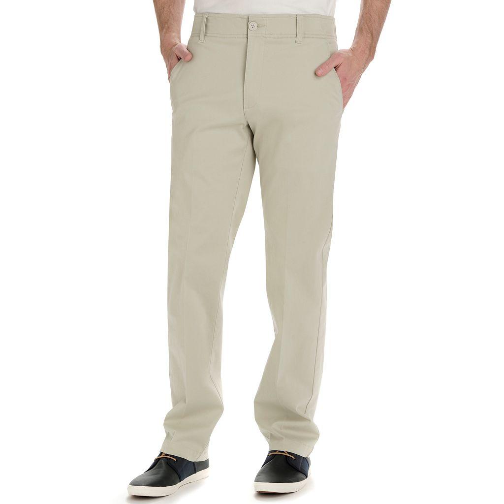 Big & Tall Lee Performance Series Extreme Comfort Straight-Fit Refined Khaki Pants