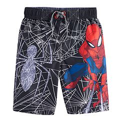 Boys 4-7 Marvel Spider-Man Swim Trunks