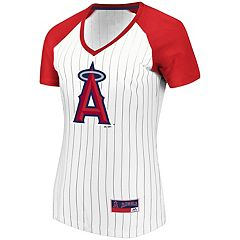 Women's Majestic Los Angeles Angels of Anaheim Jersey Tee