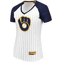 Women's Majestic Milwaukee Brewers Jersey Tee