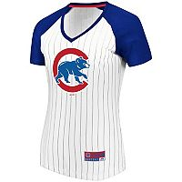 Women's Majestic Chicago Cubs Jersey Tee