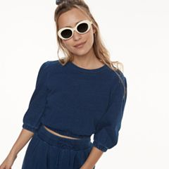 k/lab Cropped Sweatshirt