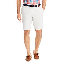 Big & Tall Chaps Classic-Fit Oxford Stretch Flat-Front Shorts